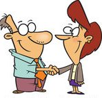 1192344-cartoon-of-a-business-man-and-woman-shaking-hands-royalty-free-vector-clipart